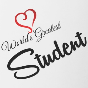 Worlds Greatest STUDENTI - Tazze bicolor