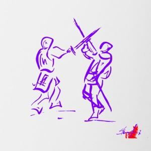 PURPLE SWORD - Tasse bicolore