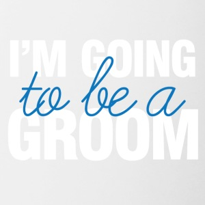 Wedding / Marriage: I'm going to be a Groom. - Contrasting Mug