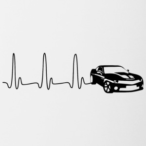 ECG HART LINE SPORTS CAR zwart - Mok tweekleurig