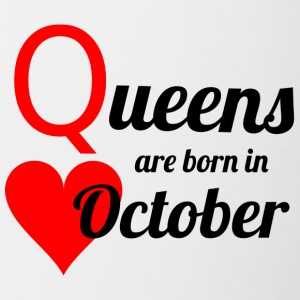 October Queen - Tasse zweifarbig