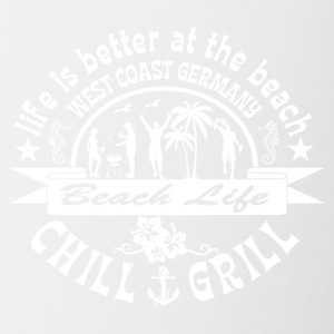 Chill Grill West Coast - Tasse zweifarbig