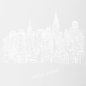 New York City - Stati Uniti - Tazze bicolor