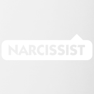 Narcissist! - Tasse bicolore