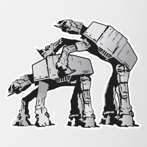 AT-AT Robot sex - Mok tweekleurig