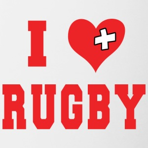 Amo Rugby Football - Tazze bicolor
