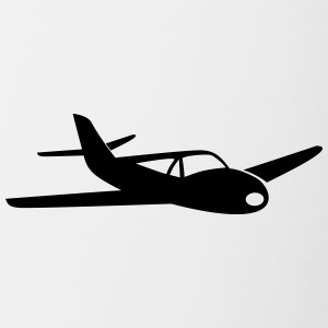 Small sports aircraft - Contrasting Mug