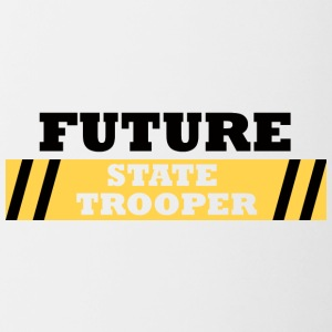 Police: Future State Trooper - Tasse bicolore