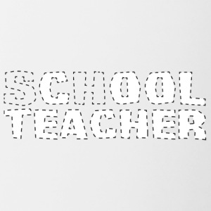 Teacher / School: Cool Teacher - Contrasting Mug