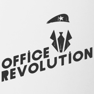 Office Revolution - Tasse zweifarbig