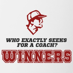 Coach / Trainer: Who exactly seeks for a coach? - Contrasting Mug