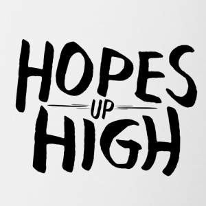 Hopes Up High - Kubek dwukolorowy