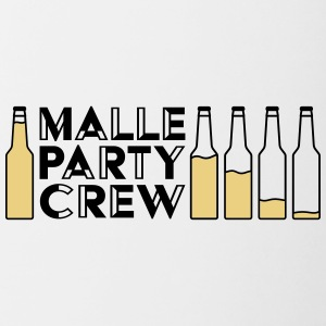 Malle Party Creqw - Kubek dwukolorowy