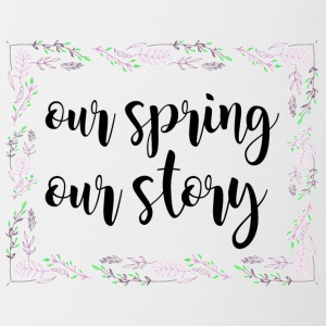 Spring Break / Spring Break: Our Spring. Ons verhaal. - Mok tweekleurig