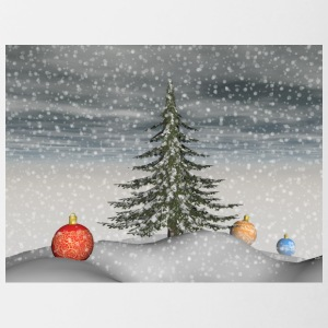 christmas_snow - Tasse bicolore