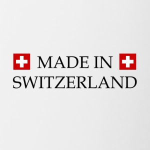 Made_in_Switzerland - Tasse bicolore