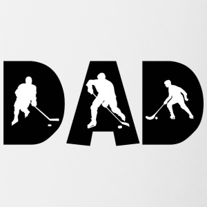 Hockey Dad - Contrasting Mug