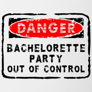 Bachelorette Party Out Of Control - Contrasting Mug