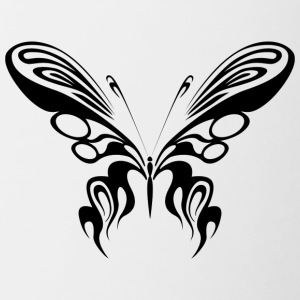 Sweet butterfly - Contrasting Mug
