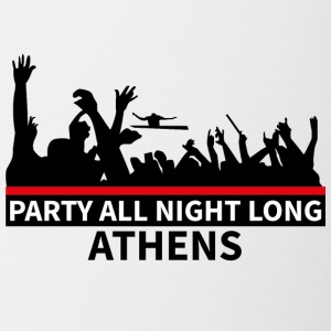 ATHENS - Party All Night Long - Contrasting Mug