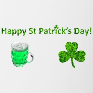 Happy St Patricks Day - Contrasting Mug