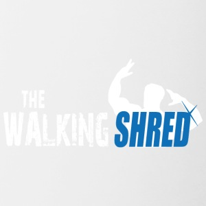 The Walking Shred - Contrasting Mug
