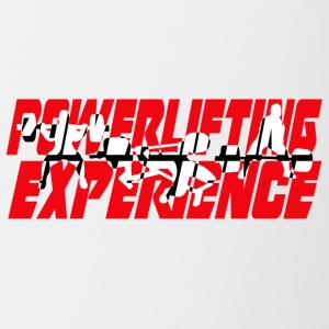 powerlifting EXPERIENCE - Contrasting Mug