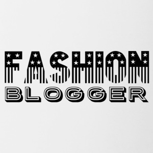 Fashion Blogger - Mok tweekleurig