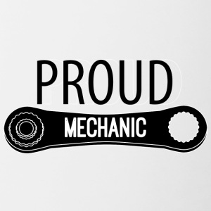 Mechaniker: Proud Mechanic - Tasse zweifarbig