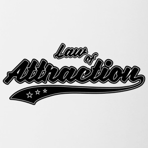 Law of Attraction - Contrasting Mug