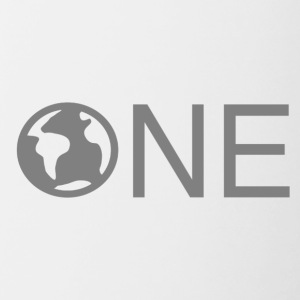 One world - Contrasting Mug