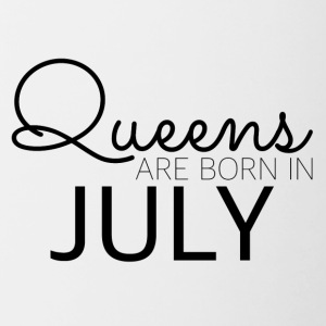 Queens in July - Tasse zweifarbig