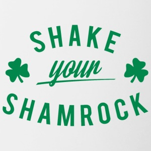 Ireland / St. Patrick's Day: Shake Your Shamrock - Mok tweekleurig