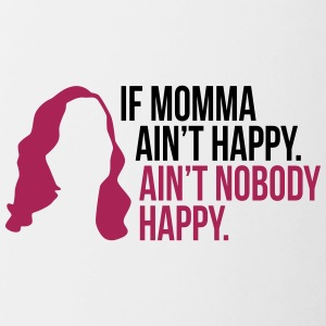 If Momma Ain t Happy Mother's - Mother's Day - Contrasting Mug