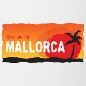 Take Me To Mallorca - Mok tweekleurig
