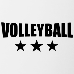 volleyball T-shirt - beachvolley skjorte - Team - Tofarvet krus