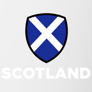 National Flag Of Scotland - Contrasting Mug