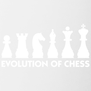 The Evolution Of Chess - Contrasting Mug