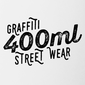 400ml Street Wear - Tazze bicolor
