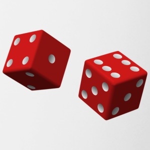 Red dice - Mok tweekleurig