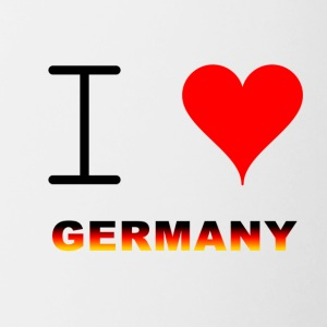 I LOVE GERMANY COLLECTION - Tasse zweifarbig