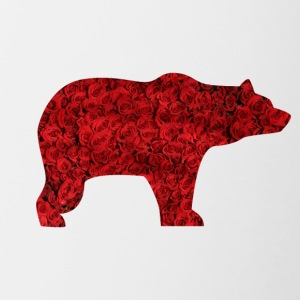 BEAR AND ROSES - Tasse zweifarbig