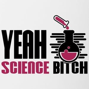 Ja Bitch Science Chemistry - Mok tweekleurig