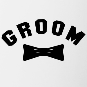 GROOM Getting Married - Contrasting Mug