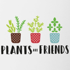 PLANTS in color - Contrasting Mug