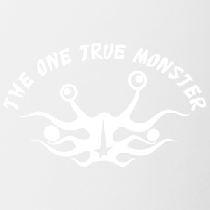 the one true monster Netherlands white - Contrasting Mug