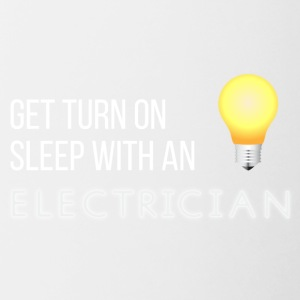 Electricians: Get turn on sleep with at Electrician - Contrasting Mug