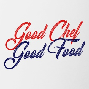 Cook / Chef: Good Chef - Good Food - Mok tweekleurig