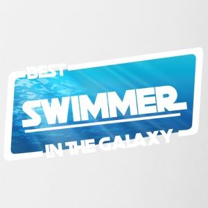 Swimming / Swimmer: Best Swimmer In The Galaxy - Contrasting Mug