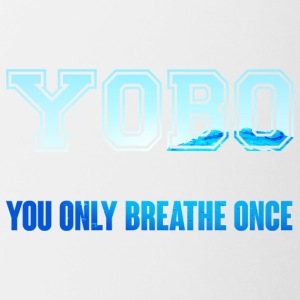 Nuoto / float: Yobo - Breathe solo una volta - Tazze bicolor